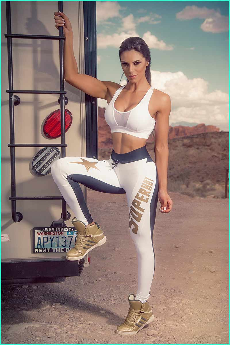 Super Hot Golden Star Legging