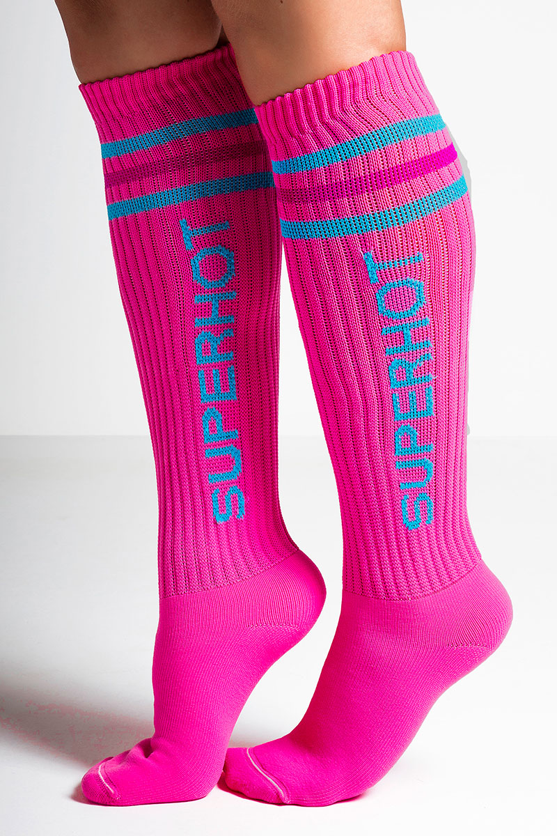 SuperHot In The Pink Socks