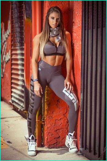 Gray Workout Leggings For Women Superhot Fitness Tights