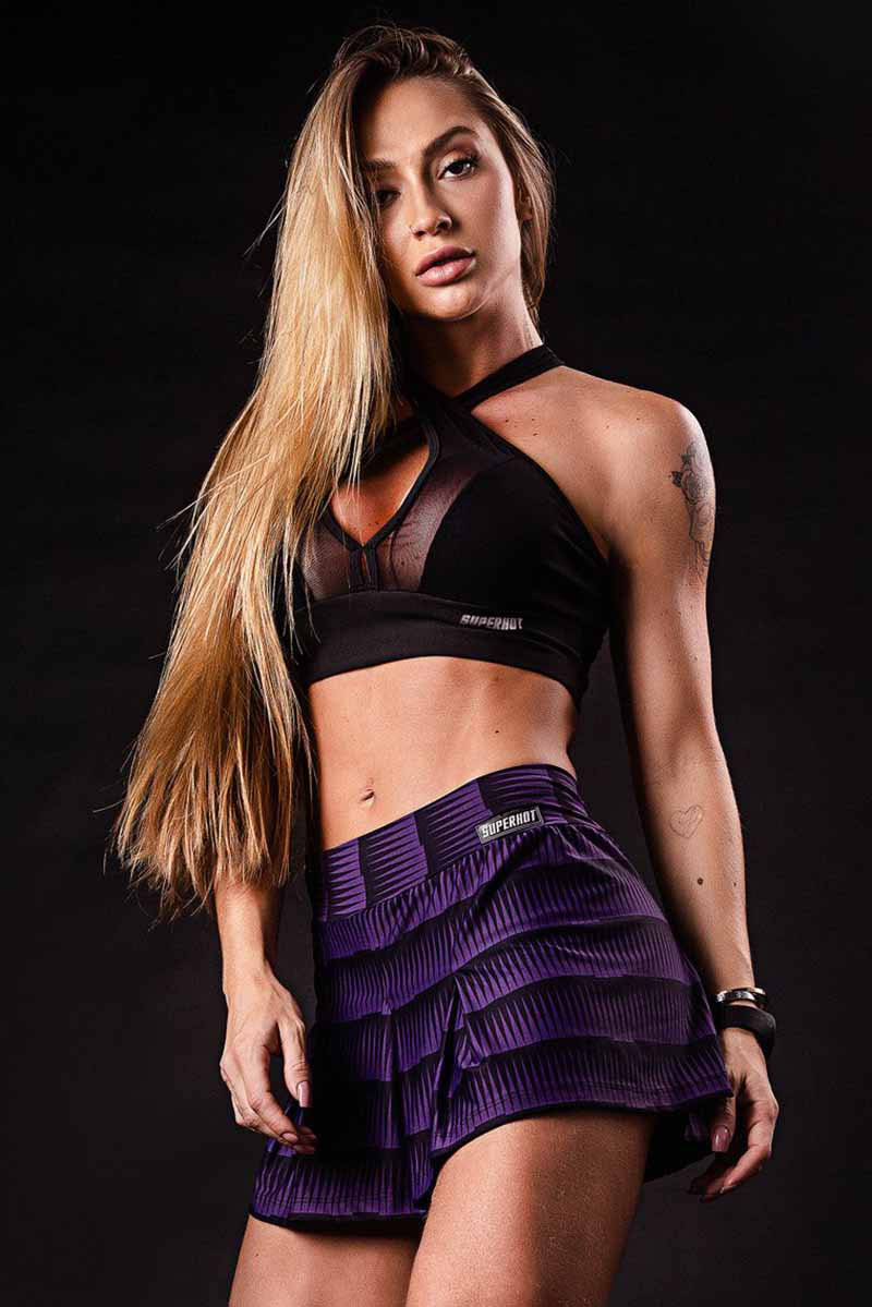 SuperHot Sweet Pleat Skort