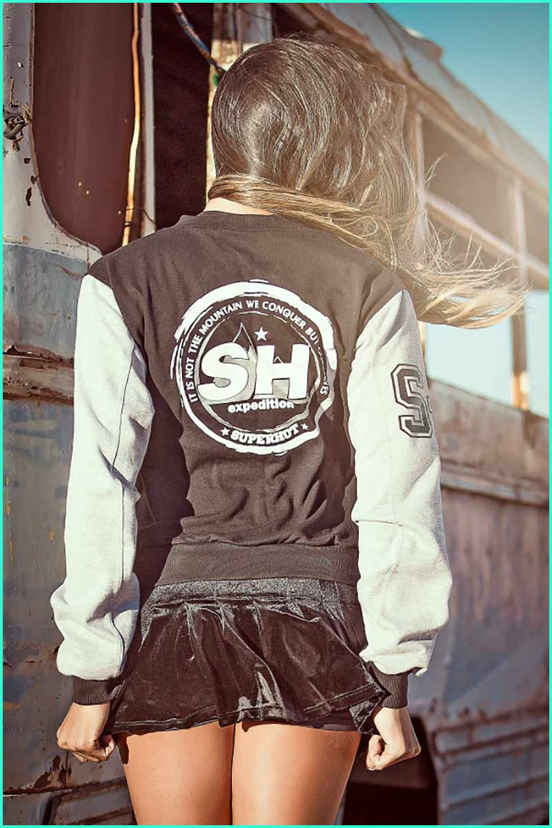 Super Hot Varsity Expedition Jacket