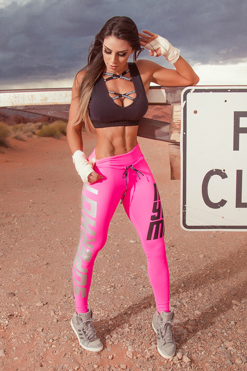 Super Hot Pink Make Your Mark Legging